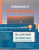 Cover of: Fundamentals of Fluid Mechanics, 5th Edition, JustAsk! Set