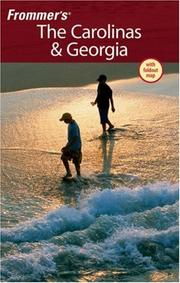 Cover of: Frommer's The Carolinas & Georgia