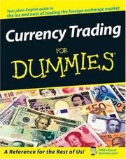 Cover of: Currency Trading For Dummies (For Dummies (Business & Personal Finance))