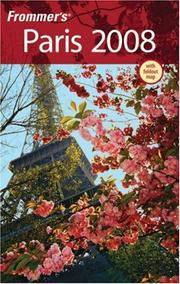 Cover of: Frommer's Paris 2008 (Frommer's Complete)