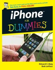 Cover of: iPhone For Dummies