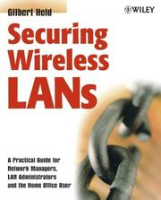 Cover of: Securing Wireless LANs