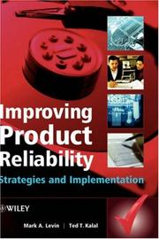 Cover of: Improving Product Reliability