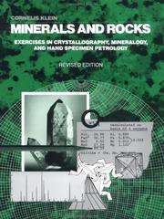 Cover of: Minerals and Rocks, 21st Edition