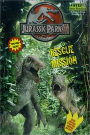 Cover of: Jurassic Park III: Rescue Mission