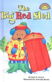 Cover of: Big Red Sled (Hello Reader! Level 1 (Sagebrush))