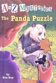 Cover of: Panda Puzzle (A to Z Mysteries (Sagebrush))