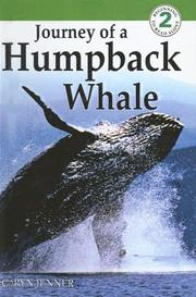Cover of: Journey of a Humpback Whale (DK Readers: Level 2)