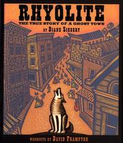 Cover of: Rhyolite