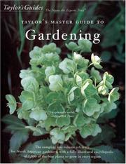 Cover of: Taylor's Master Guide to Gardening