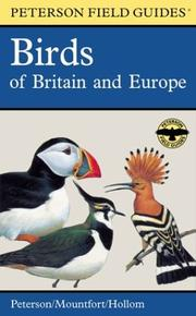 Cover of: A Field Guide to the Birds of Britain and Europe