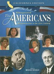 Cover of: The Americans Reconstruction to the 21st Century