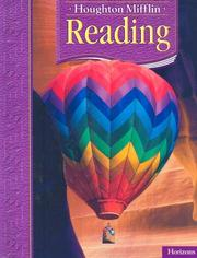 Cover of: Reading. Level 3.2 (Houghton Mifflin. Horizons)