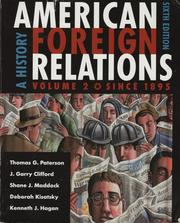 Cover of: American Foreign Relations