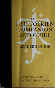 Cover of: The J.R.R. Tolkien Companion and Guide: Reader's Guide: Volume 2