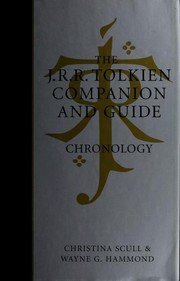 Cover of: The J.R.R. Tolkien Companion and Guide, Volume 1