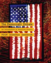Cover of: The Democratic Debate