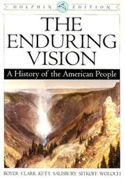 Cover of: Enduring Vision