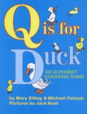 Cover of: Q Is for Duck