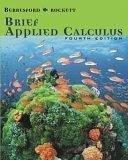 Cover of: Brief Applied Calculus