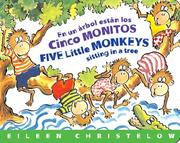 Cover of: En un Árbol Están los Cinco Monitos / Five Little Monkeys Sitting in aTree
