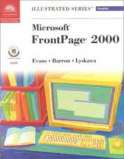 Cover of: Microsoft FrontPage 2000-Illustrated Complete (Illustrated Series : Complete)