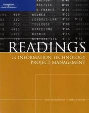 Cover of: Readings in Information Technology Project Management