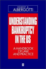 Cover of: Understanding Bankruptcy in the U.S.
