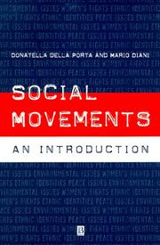 Cover of: Social Movements