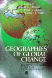Cover of: Geographies of Global Change
