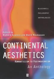 Cover of: Continental aesthetics