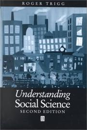Cover of: Understandng Social Science