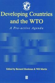 Cover of: Developing countries and the WTO