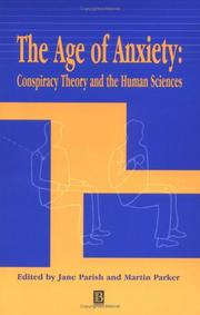 Cover of: The age of anxiety