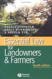 Cover of: Essential Law for Landowners & Farmers