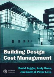 Cover of: Building Design Cost Management