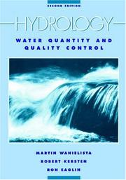 Cover of: Hydrology