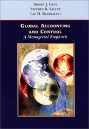 Cover of: Global Accounting and Control