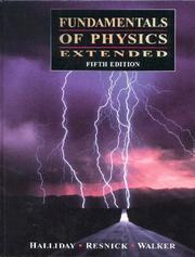 Cover of: Fundamental of Physics (5-part paperback set)
