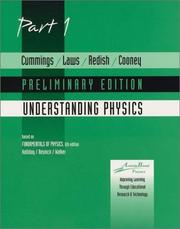Cover of: Understanding Physics , Part 1