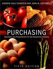 Cover of: Purchasing, Fifth Edition Package (includes Text and NRAEF Workbook)