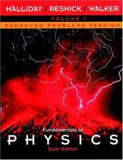 Cover of: Fundamentals of Physics, Chapters 1 - 21, Enhanced Problems Version