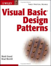 Cover of: Visual Basic .NET Design Patterns
