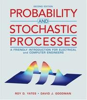 Cover of: Probability and Stochastic Processes