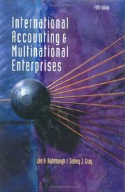 Cover of: International Accounting and Multinational Enterprises, 5th Edition