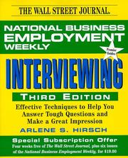 Cover of: Interviewing, 3rd Edition