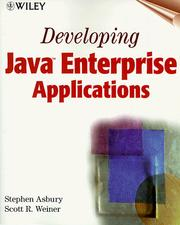 Cover of: Developing Java Enterprise Applications