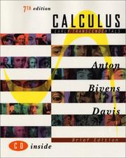 Cover of: Calculus, Early Transcendentals Brief Edition