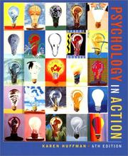Cover of: Psychology in Action, 6th Edition