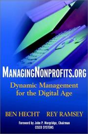 Cover of: Managingnonprofits.org: Dynamic Management for the Digital Age